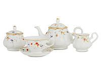 """Чайный сервиз на 15 предметов """"Каролина"""" Lefard 943-003"""