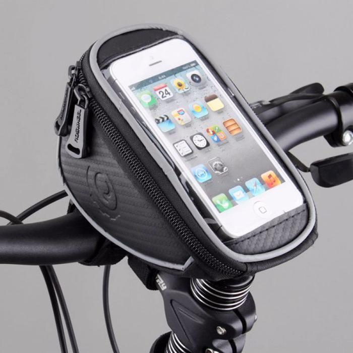 Велосипедная сумка велосумка Roswheel на руль, телефон 4.2-5 дюймов