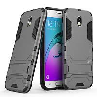 Чехол Samsung J530 / J5 2017 Hybrid Armored Case темно-серый