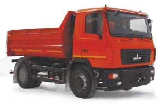 Самоскид МАЗ 5550V3-520\521-000