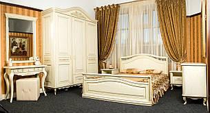 Деревянная двуспальная кровать, фото 2