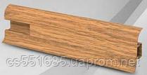 W 002 дуб мичеган - плинтус напольный пластиковый  Wimar (Вимар)