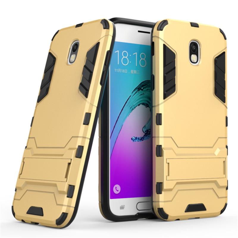 Чехол Samsung J530 / J5 2017 Hybrid Armored Case золотой