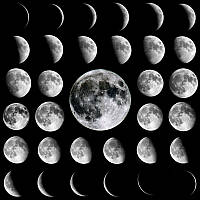 Фотошпалери Фази Місяця