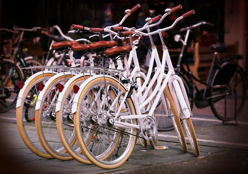 Фотообои Велосипеды