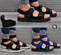 Мужские сандалии New Balance CaravanMulti Sandals 3 цвета  (Реплика AAA+)