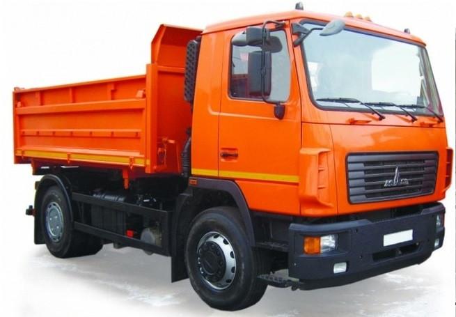Самосвал МАЗ 5550V5-020-021