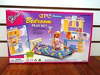 Мебель для кукол типа Барби Глория Gloria 21014 Спальня с трюмо