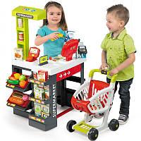 Интерактивный супермаркет с тележкой Smoby 350210 , фото 1