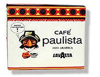 Кофе Lavazza Paulista  250 гр молотый (блок 2 шт)