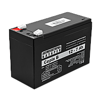 Аккумуляторная батарея кислотная AGM  В 12 - 7 AH ТМ Logicpower