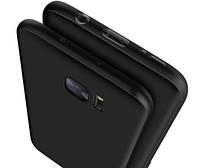 Матовый ТПУ чехол-бампер для Samsung Galaxy S7.