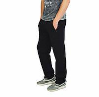 Черные мужские спортивные трикотажные штаны NIKE, фото 1