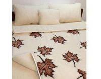 Одеяло двустороннее шерстяное, Полуторное