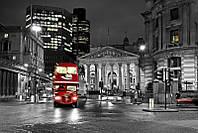 Фотообои Ночной автобус