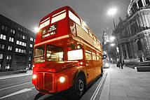 Фотообои Старинный лондонский автобус