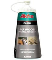 """✅ Клей водостойкий полиуретановый для дерева """"AkFix РА360"""" (вес - 600 гр)"""
