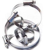 Хомут металлический W1 оцинкованный CORT 20-32 мм 50 шт