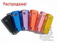 Пластиковый чехол в сеточку для Nokia 5800