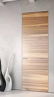 Межкомнатная дверь ELDOOR Wood (натуральный шпон) Орех американский GLOSS 5% в проем 2800х1000
