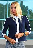Блуза школьная модная арт.003