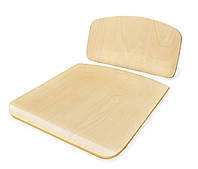 Сидіння та спинка для шкільних стільців (лакована фанера)