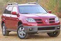 Силовые обвесы Mitsubishi Outlander с 2001-2007 г., кенгурятники и пороги