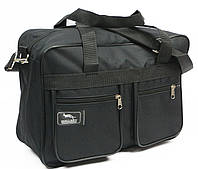 Мужская тканевая городская сумка Wallaby 2630 black, черный