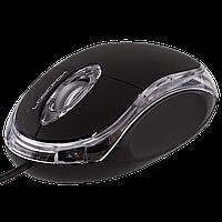 Мышь LogicFox LF-MS 000 , 3D, оптическая, 3000 FPS, 800 dpi, USB, 150 млн. нажатий, длина провода 1.30 м, цвет-чёрный, коричневая коробка