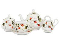 """Фарфоровый чайный сервиз на 15 предметов """"Лесная ягода"""" Lefard 943-004, фото 1"""