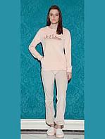 Женская теплая велюровая пижама пижама HAYS 17030. Коллекции одежды для дома HAYS Зима 2018