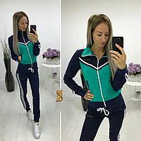 Костюм спортивный женский 754/1ос батал