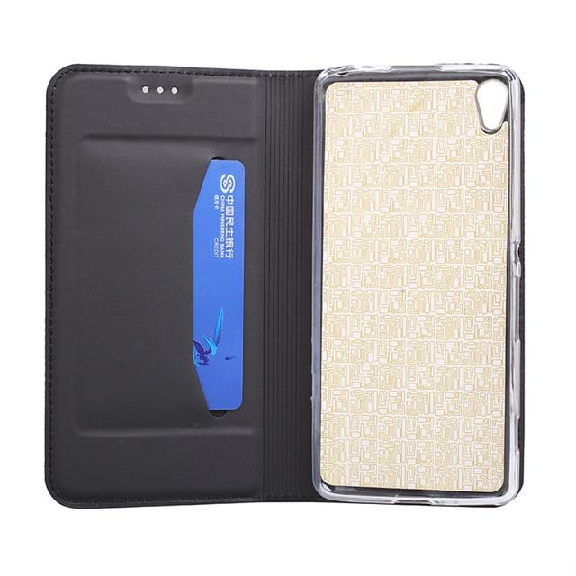 чехол на Sony Xperia L1 книжка ультратонкий черный