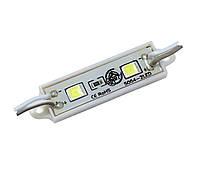 Cветодиодный модуль 5054 СW на 2 диода
