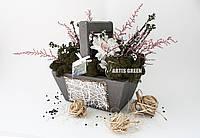"""Эко-корзинки из стабилизированных растений """"Artis Green"""""""