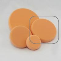 KOCH CHEMIE Antihologrammschwamm orange gewaffelt Анти- голограмнный круг  160 x 30 mm(гладкий)