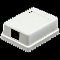 Розетка Logicpower (LP-212) 1-порт. RJ-45, кат.5e UTP.