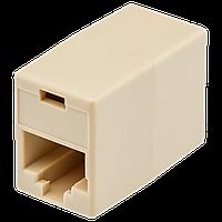 Соединительная коробка  (LP-LNG-350) 2хRJ-45, Cat. 5e UTP (ФАС 5шт) ТМ Logicpower