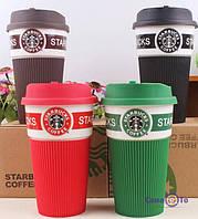 ТОП ВЫБОР! Термочашка Starbucks Green Старбакс керамическая - чашки Starbucks Старбакс, термокружка Starbucks, термочашка Starbucks, кружки старбакс,