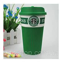 ТОП ВЫБОР! Термокружка Starbucks Green Старбакс керамическая - кружки Starbucks Старбакс, термокружка Starbucks, термочашка Starbucks, кружки, фото 1