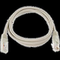 Патч-корд литой  UTP, RJ45, кат. 5Е, 1,5 m (серый)