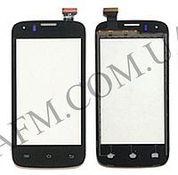 Сенсор (Touch screen) Prestigio 4055 MultiPhone черный