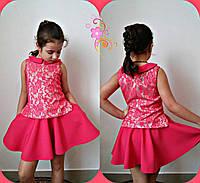 Костюм на девочку юбка + блузка № 626 mari, фото 1
