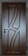 Входные двери металлические, бронированные, с декоративной МДФ накладкой с одной стороны VARTA STANDART VS115