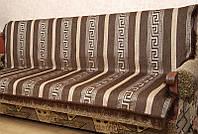 Шенилловое покрывало на кровать (двуспальное) - Код 80-7