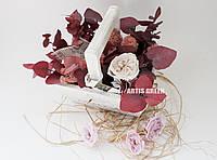 """Эко-корзинки из стабилизированных растений и роз """"Artis Green"""""""