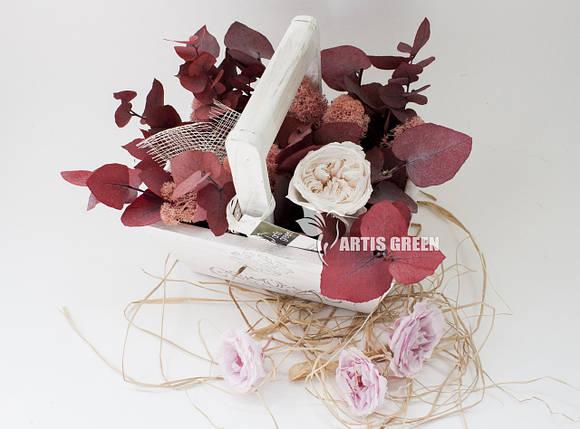 """Эко-корзинки из стабилизированных растений и роз """"Artis Green"""", фото 2"""