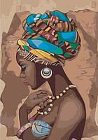Картина по номерам Жемчужина Африки КНО2625 Идейка