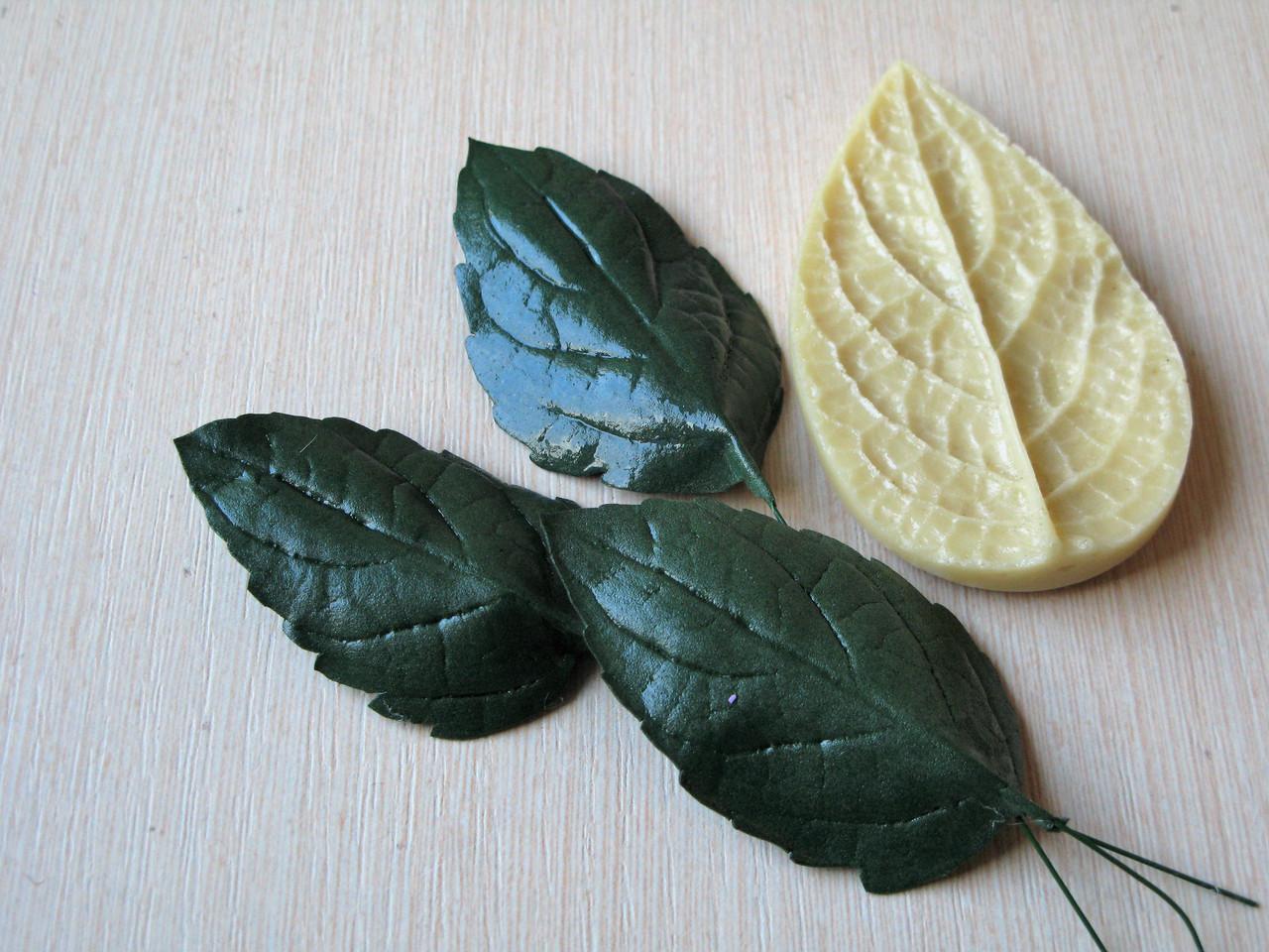 Молд лист сирени 8 на 5 см, 50 грн