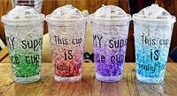 Охлаждающая бутылка Ice Cup 550 ml